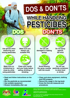 Dos & Don'ts While Handling Pesticides