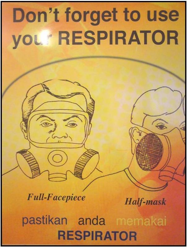 Don't Forget To Use Your Respirator