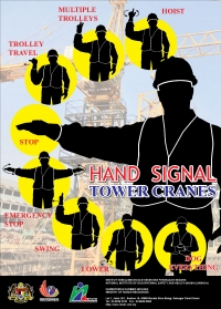 Hand Signal Tower Cranes